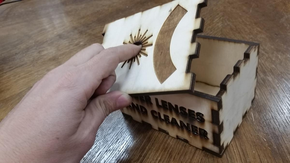 Laser Cut and Engraved Box   MakeHaven