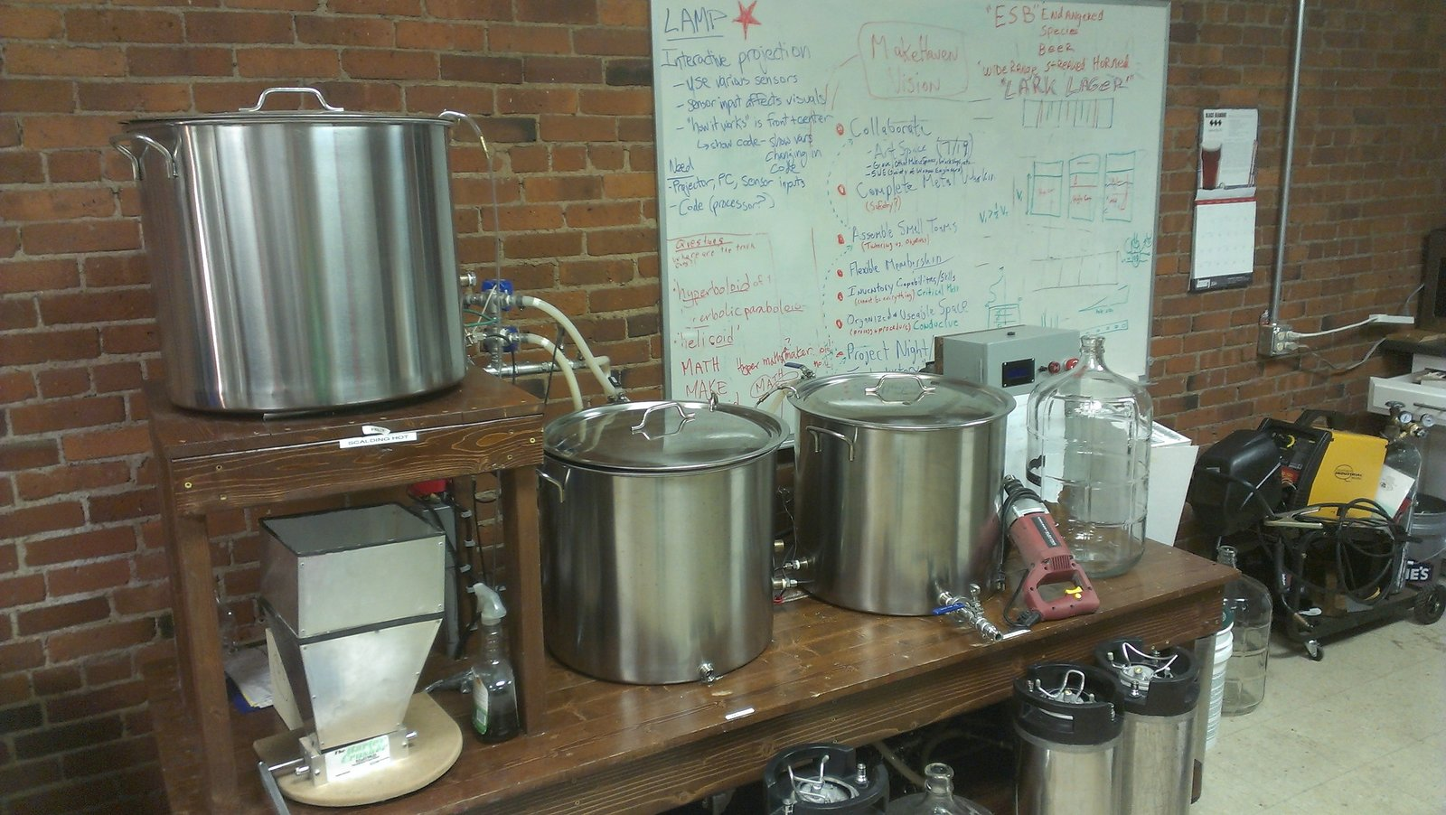 Herms Brewing System Makehaven