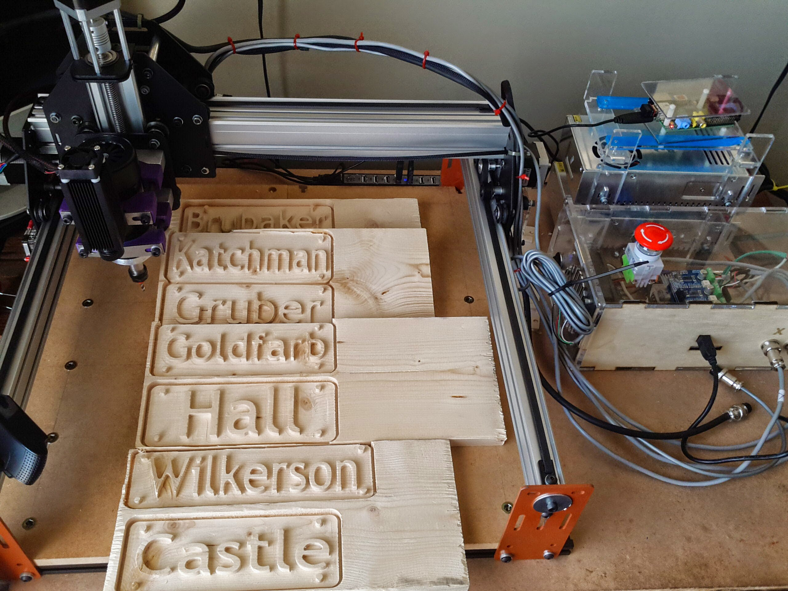 Maker Idea 3 Cnc Mill A Sign Name Plate Or Family Crest