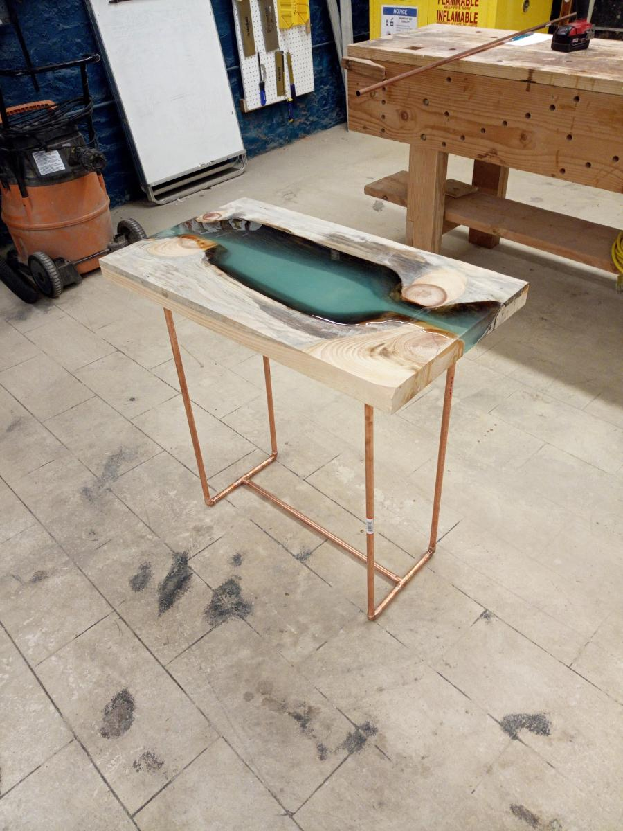 Excellent Resin River Table Makehaven Download Free Architecture Designs Licukmadebymaigaardcom