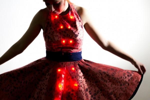 how to make led clothing